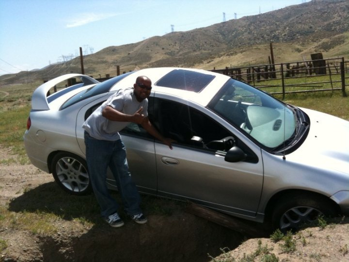 donte tidwell car stuck los angeles photo