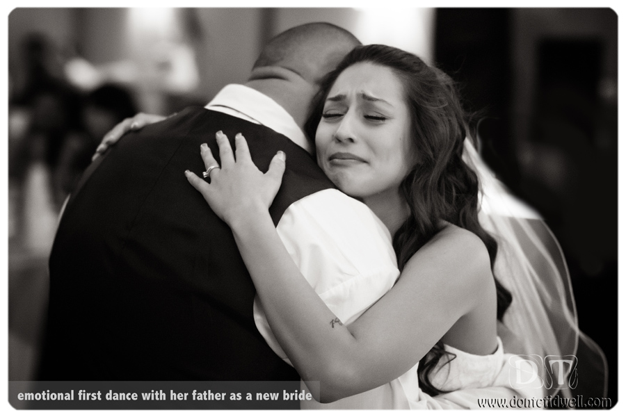 investment bride dancing with father donte tdiwell los angeles photo