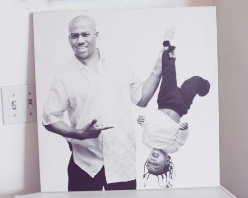 Family portrait donte tidwell