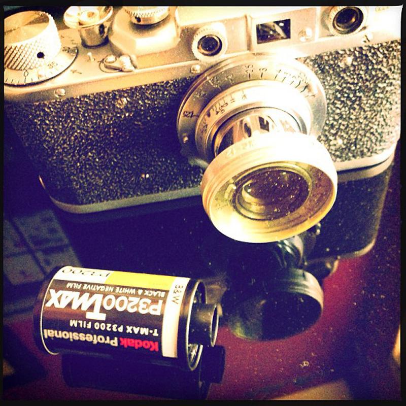 old film camera donte tidwell los angeles wedding photo