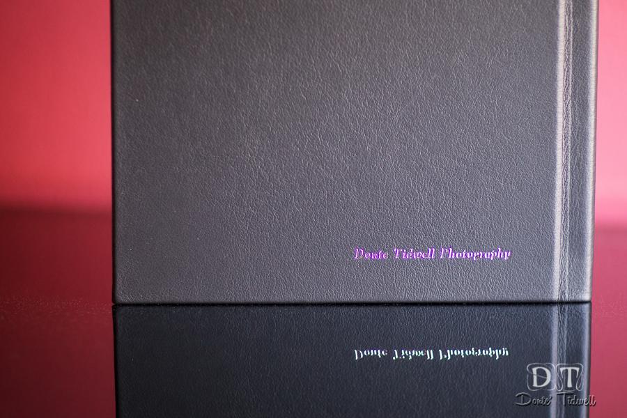 leather craftsmen albums donte tidwell wedding photo