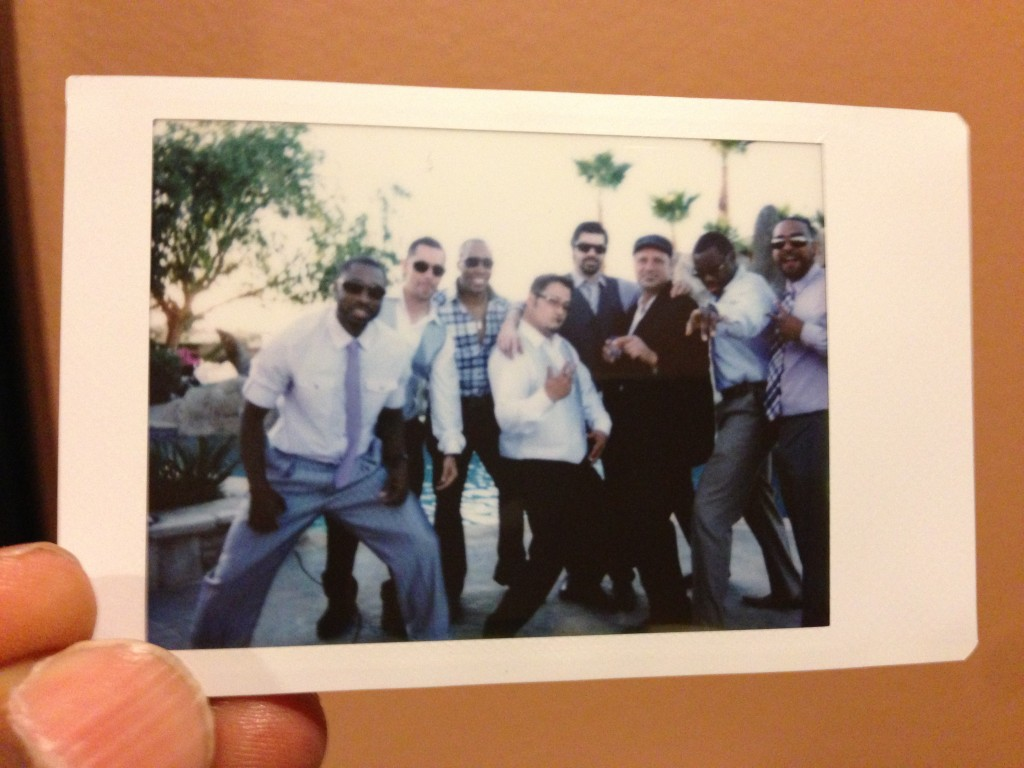 instax camera donte tidwell los angeles wedding photo