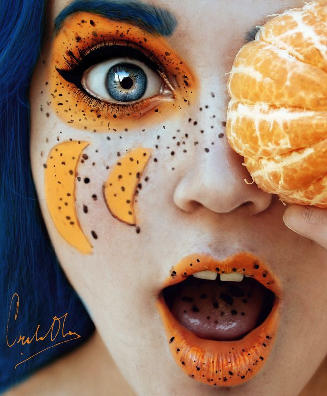 16-year-old Spanish photographer Cristina Otero captivates us with these zoomed-in self-portraits.