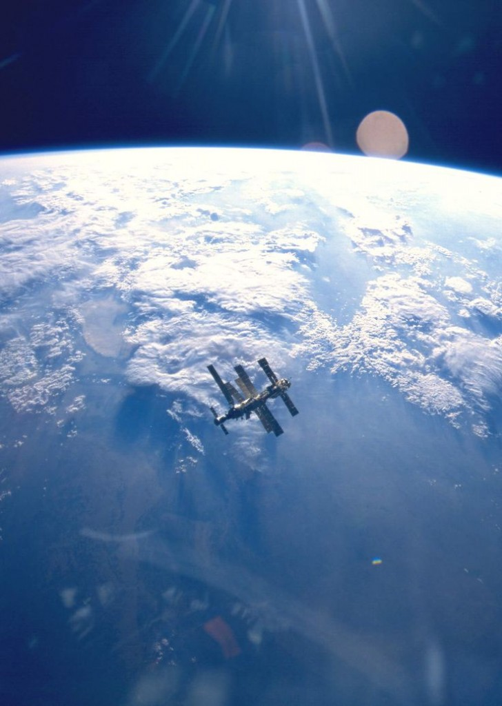 The Mir Space StationTaken by Atlantis (STS-71) in July 1995