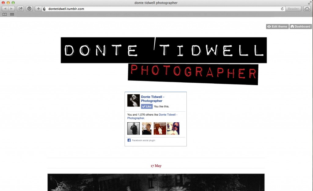 social media marketing donte tidwell los angeles photo