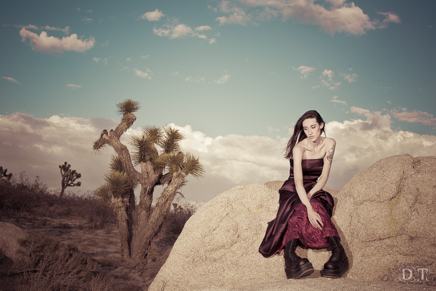 desert fashion photoshoot donte tidwell