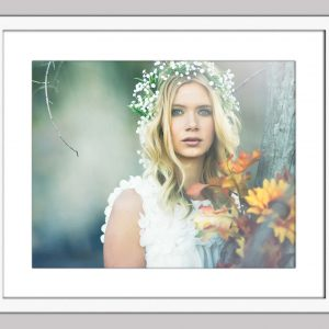 Secret-Garden-framed white-102