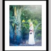 secret garden 128 framed black