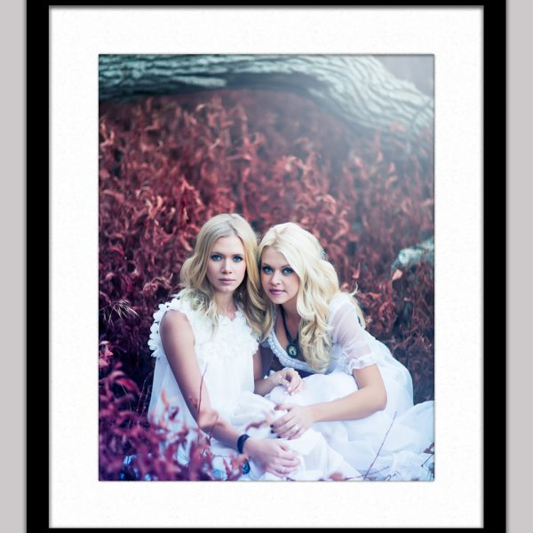secret garden 298 framed black