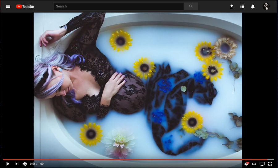 Behind the Scenes of a Maternity Milk Bathtub Photoshoot
